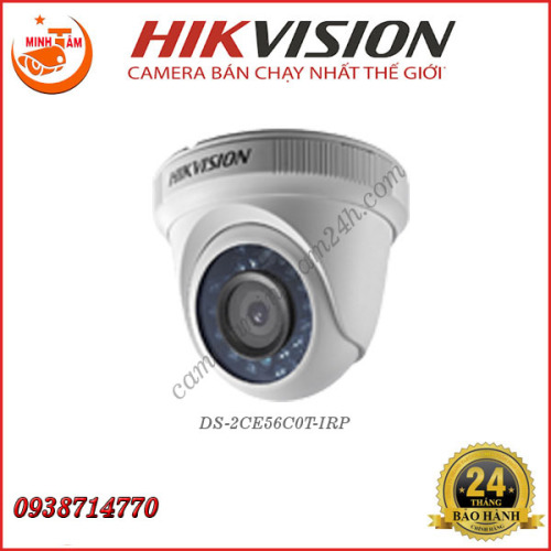 Camera Hikvision 1MP DS-2CE56C0T-IRP