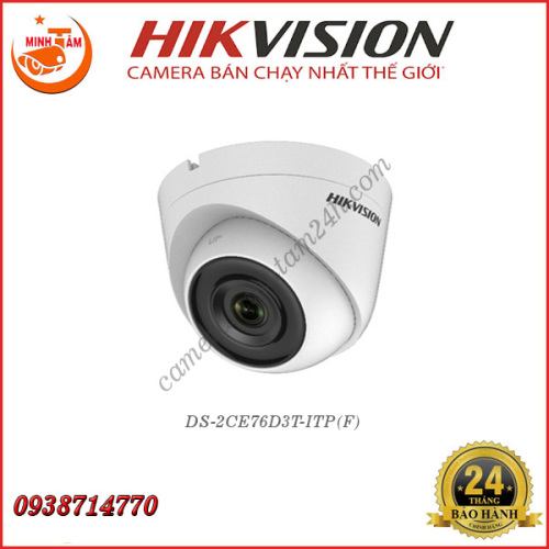 Camera Hikvision 2MP DS-2CE76D3T-ITP(F)